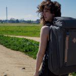ShieldTek™素材によって中の荷物を安全に守るトラベル&カメラ・バックパック「ERA Backpack System」
