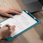 フリクションペンを使う事でサッと一拭きで簡単に消せるデジタルノート「Rocketbook Orbit」