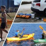 クルクルと巻き取り収納ができるから初心者でもok!!12.7kgと超軽い組立式カヤック「Folding Tucktec Eco Kayak」