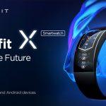 92°カーブのAMOLEDディスプレイが特徴的なブレスレットの様な着け心地のアクティブトラッカー「Amazfit X」