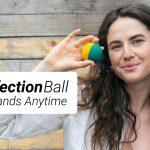 握るとプシュプシュとアルコールが飛び出て来るボールと漏らさずに補充可能なボトルのセット「DisinfectionBall」