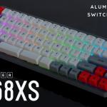 Gateron or CherryMXキーを使い完全に自分好みのキーボードに仕上げられる、親指Fnキーボード「GK68X」