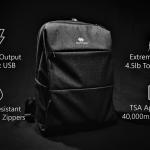 荷物を詰めると言うよりも、電源・充電ステーションとしての機能が充実したバックパック「Smart Bag」