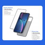 銀イオンの効果でスマートフォンを自動的に殺菌する保護ガラス付きスマートフォンケース「SilverCore」