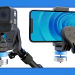 ポケットに入る小型サイズで持ち運びにも便利なアクションカメラ&スマホ用スタビライザー「GravGrip」