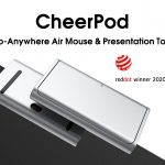 トラックパッドの良い所をマウスに移植したプレゼン用エアマウスとして使用できる「CheerPod」