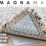 フローリングに敷いたカーペットの交換や掃除がとても楽になるマグネットテープ「MagnaMat」