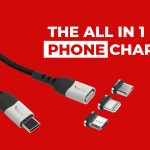 "<span class=""title"">USB-C PD100W充電に対応しmicroUSB、Lightningチップも付属するマグネットケーブル「VOLTA Spark」</span>"