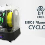 """<span class=""""title"""">FDM方式の3Dプリンターでの造形の失敗を防ぐ秘密兵器フィラメントドライヤー「EIBOS Filament Dryer CYCLOPES」</span>"""