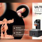 """<span class=""""title"""">5.5インチ4K液晶を使う事でより微細な加工が可能になったLCD-SLA 3Dプリンタ「Orange 4K Color」</span>"""