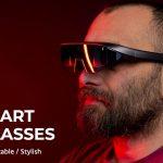 """<span class=""""title"""">MR(複合現実)を誰もが身近に、専門的な知識がなくても体験する事ができる4Kスマートグラス「STELLAR Glass」</span>"""