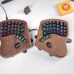 """<span class=""""title"""">キー配置からキータッチ、そして角度まで思いのままに設定できるキーボード「The Keyboardio Model 100」</span>"""