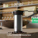 """<span class=""""title"""">コールドブリューからエスプレッソまでおそよ100段階に挽き具合を変更できるグラインダー「Knob Coffee Grinder」</span>"""